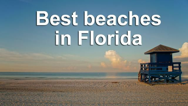 Two Florida Beaches Make Dr. Beach Top 10 List For Best Beach In The U.S.