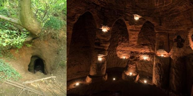 Small Hole In The Ground Leads To Mysterious English Cavern With Possible Ties To Crusades