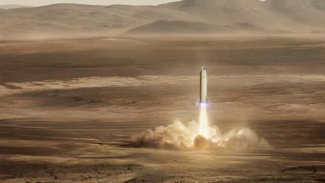 Elon Musk Explains How 'It's Possible' To Build A City On Mars By 2050