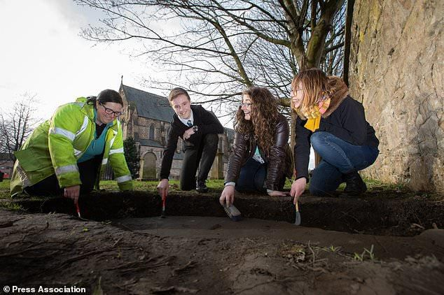 Teenager Helps Uncover Gravestones From Middle Ages In Archaeology Dig At Church