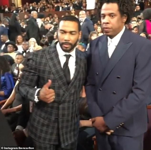 Power Actor Omari Hardwick Is Blasted For Kissing Beyonce Twice And Leaving Her Looking Less Than Impressed During Awkward Encounter At NAACP Image Award