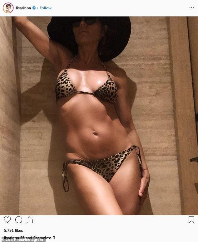 Lisa Rinna, 55, Calls Herself 'Shameless' For Sharing Bikini Photos Taken By Her Husband