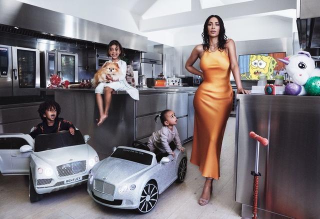 Kim Kardashian West bares curves for Vogue US May 2019
