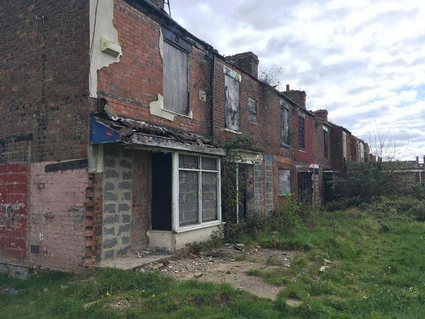 What It's Like Living In The Last Houses Standing On An Abandoned Estate