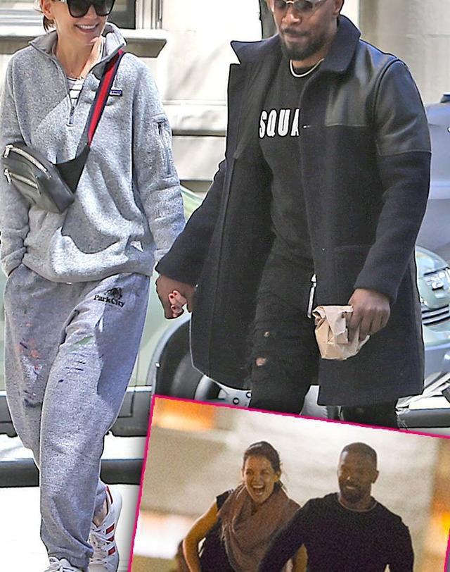 Suri's New Daddy? Katie Holmes & Jamie Foxx Hold Hands Ahead Of Daughter's 13th Birthday