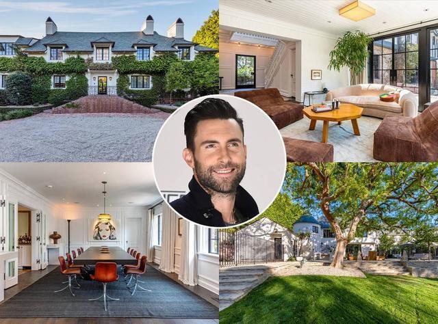 Adam Levine Lists $47.5 Million Mansion: Go Inside The Spectacular Property