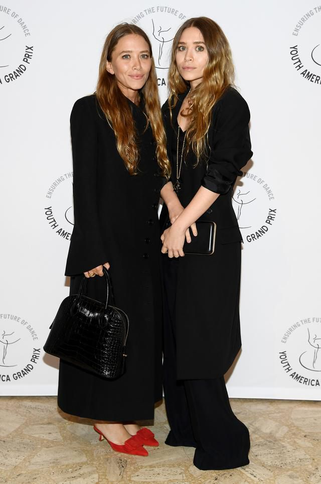 Mary-Kate And Ashley Olsen Make Rare Red Carpet Appearance Together