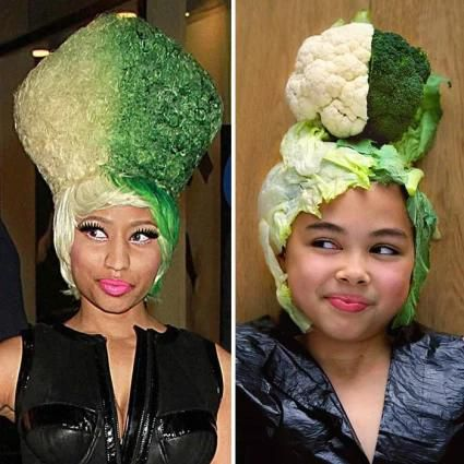 9-Year-Old Girl Hilariously Recreates Ridiculous Celebrity Outfits