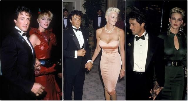Old Photos Of Sylvester Stallone And His Wife Brigitte Nielsen During Their Short Time Together