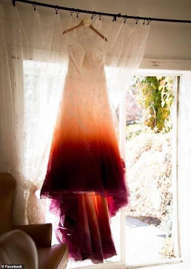 'Am I The Only One That Thinks Tampon?': Bride Slammed For Her 'Period-Stain' Dip Dyed Wedding Dress