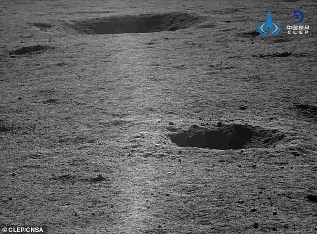 See the far side of the moon like never before: China releases stunning new images captured by its Yutu 2 rover as the mission hunkers down for another long lunar night