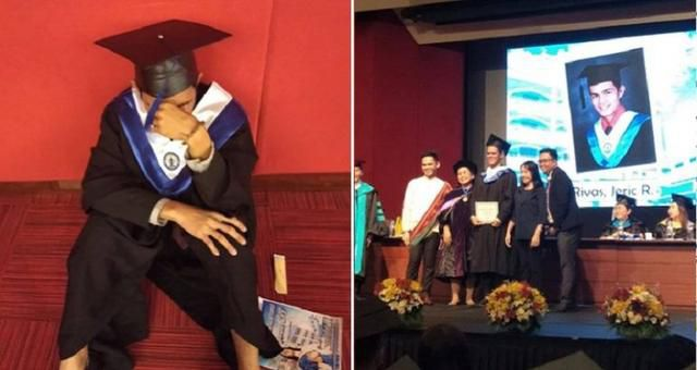 Student Breaks Down At Graduation Because His Parents Allegedly Didn't Care Enough To Show Up