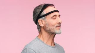 This super-soft headband is designed to gently rewire your bad sleeping habits