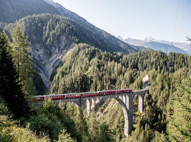 Is this the most spectacular railway journey in Europe?