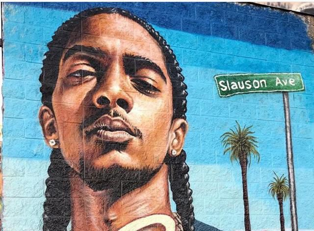 Nipsey Hussle Fans Are Furious a Woman Spray-Painted Over Mural of Him