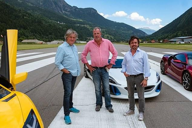 Car-azy! Clarkson and TV pals' £29m payday as their Grand Tour firm winds up, leaving them with huge windfall