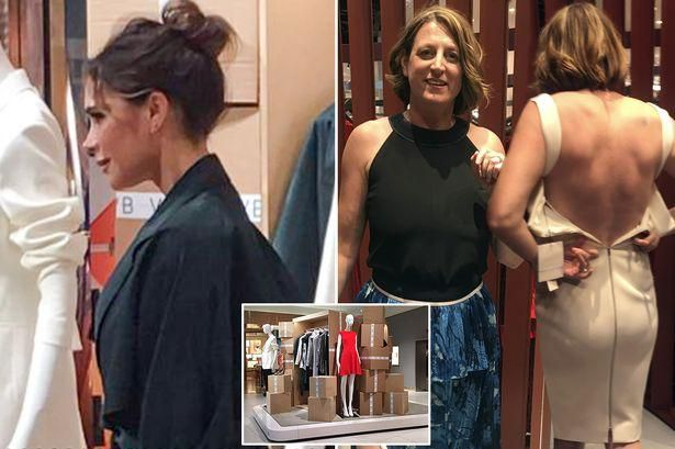 What happened when a size 12 woman tried on Victoria Beckham's new collection