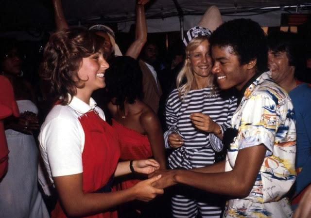 Intimate Photos of Michael Jackson and Tatum O' Neal at a Party in 1979