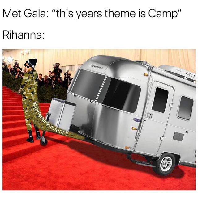 Just 21 of the Funniest Memes From the Met Gala