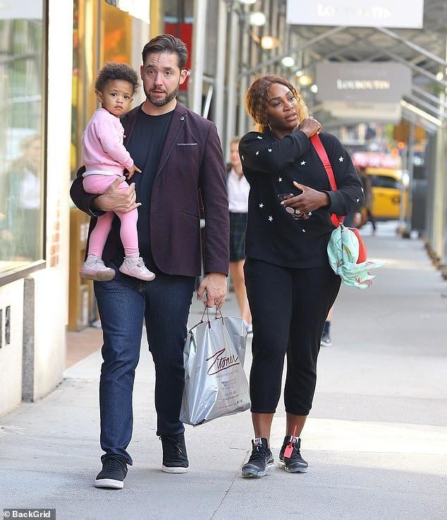Serena Williams enjoys post-Met Gala family stroll with doting husband Alexis Ohanian