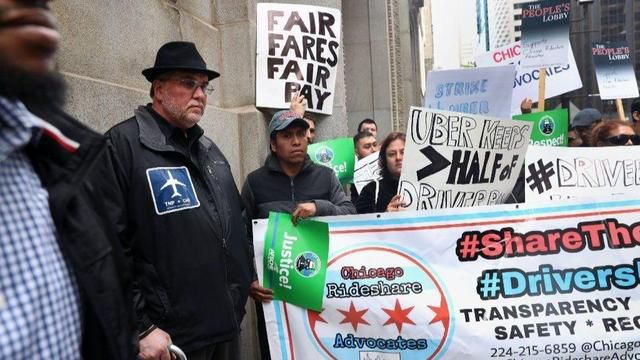 The drivers are the one who helped Uber to be $100 billion, nobody else, and the drivers are the ones who are suffering