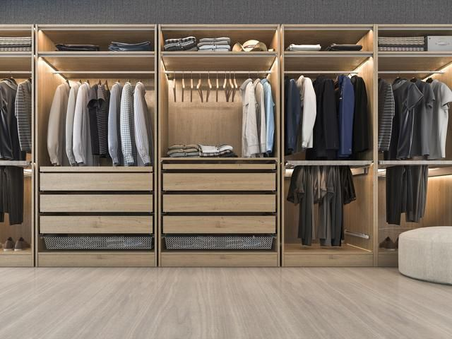 Dream of owning a walk-in wardrobe? Here's how to make it happen