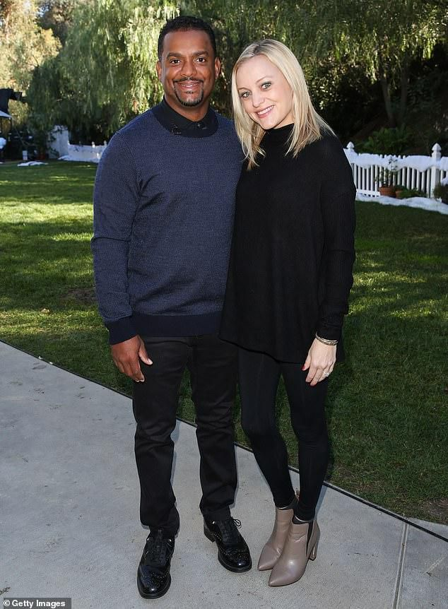Fresh Prince of Bel-Air star Alfonso Ribeiro and wife Angela welcome their third child together