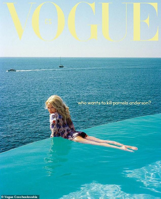Pamela Anderson, 51, lands her first ever Vogue cover