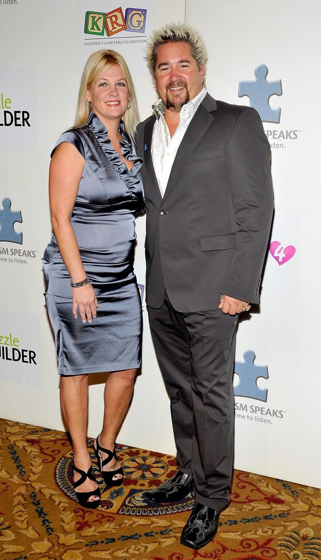 Guy Fieri's Wife Lori Says She 'Always' Asks Him to Change His Spiky, Bleach Blonde Hair
