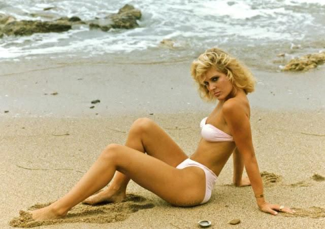 Cool Pics That Capture a Beautiful Bikini Girl on the Beach in the 1980s