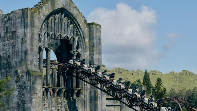 Universal Studios' New Harry Potter Roller Coaster