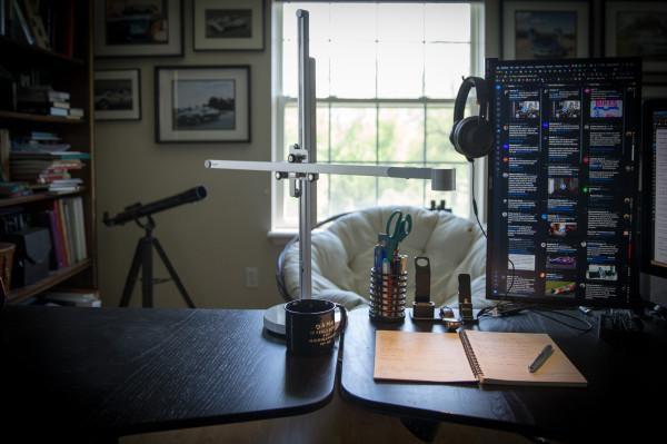 My desk doesn't deserve the $600 Dyson Lightcycle lamp
