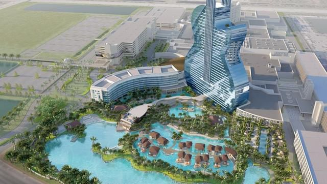 A Look at the Hard Rock's Guitar-Shaped Resort: 16 Restaurants, 20 Bars, and Overwater Villas