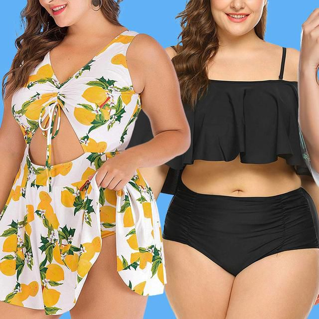 I Tried 24 Plus-Size Bathing Suits From Amazon and These Were My 7 Favorites
