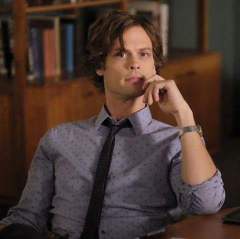 Eagle-Eyed 'Criminal Minds' Fans Are Calling Out Matthew Gray Gubler for This Photo