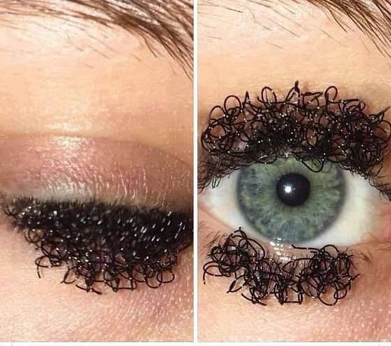 Curly Eyelashes Are the Latest Ridiculous Beauty Trend