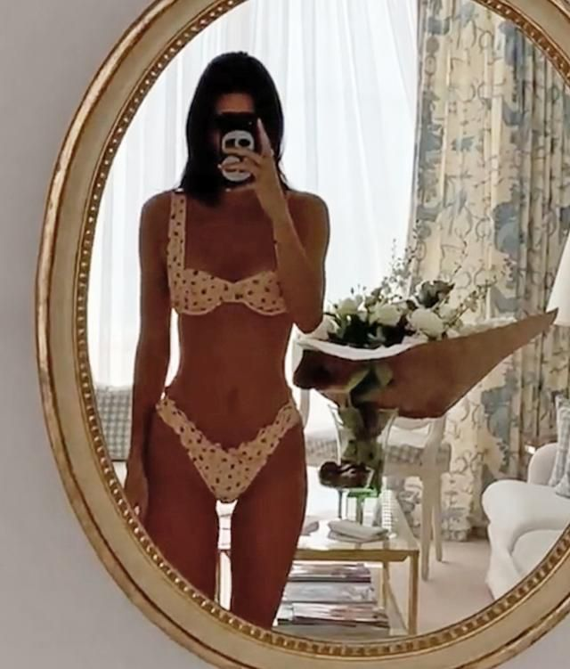 Kendall Jenner Posts Steamy Bikini Mirror Selfie After Romance with Ben Simmons Cools Off