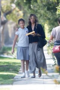Halle Berry and Daughter Nahla, 11, Look Super Cute While Out and About After School - See the Pics!