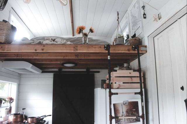 Young couple build their own tiny home to avoid sky-high housing prices in the Bay Area