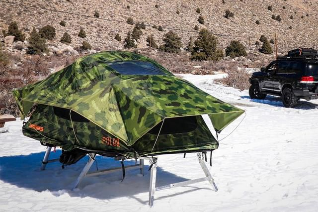 Hitch Tent Is a Clever, Non-Rooftop Platform for Your Rooftop Tent