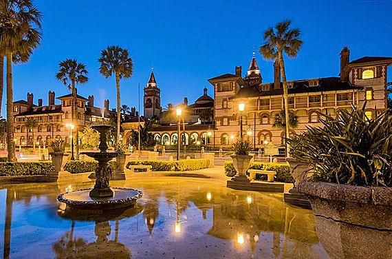 Travel to the nation's oldest city, St. Augustine, Florida