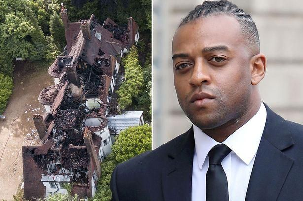 Oritse Williams' run-down mansion falling apart as new pics show full extent of fire damage