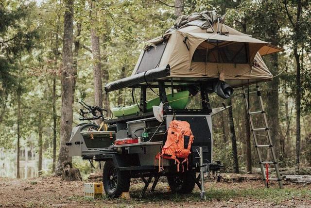 TAXA Outdoors Wooly Bear Basecamp Trailer
