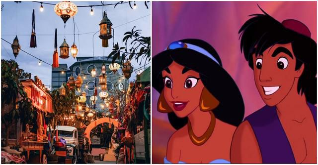 This Magical Cafe Brings the Enchanting City of Agrabah From 'Aladdin' to Life