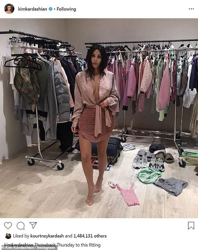 Kim Kardashian proves she is just as messy as a normal person as she shares flashback image