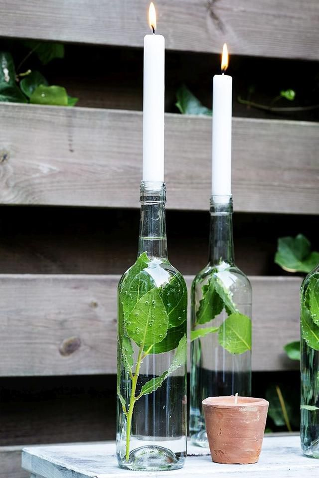 15 Wine Bottle Decor Ideas – Easy With A Touch Of Magic