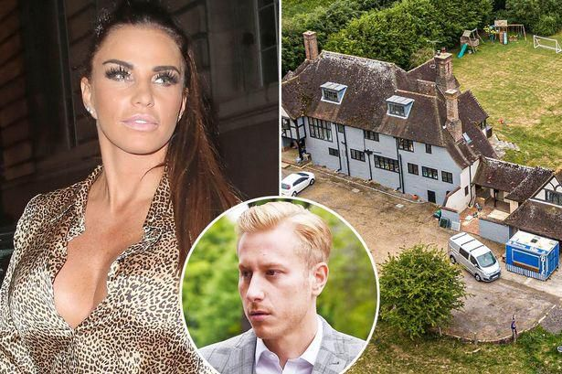 Katie Price 'moves back into mucky mansion after giving it £250k makeover'