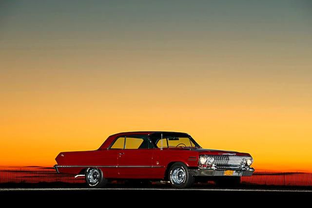 50 Years With His High School Sweetheart, a 1963 Chevrolet Impala SS409