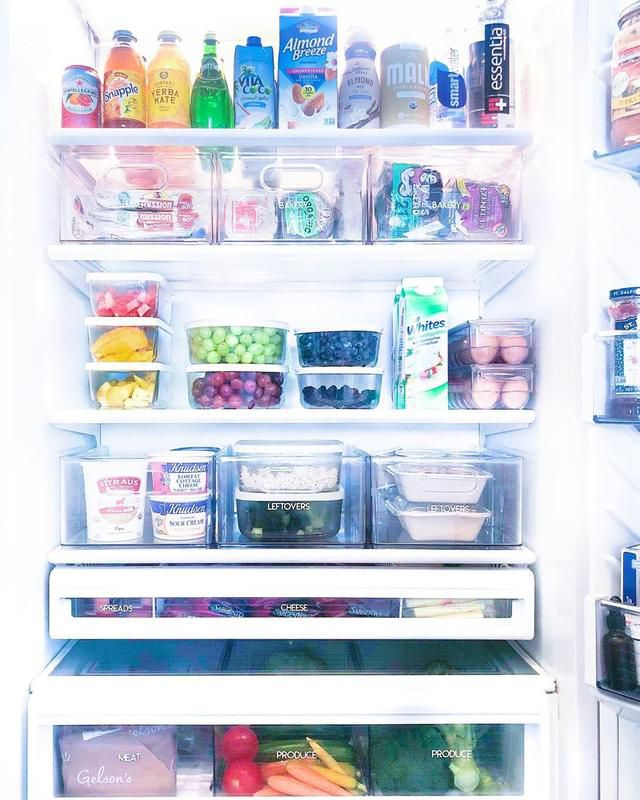 Khloe Kardashian shows off her well-organized fridge and pantry that we all need