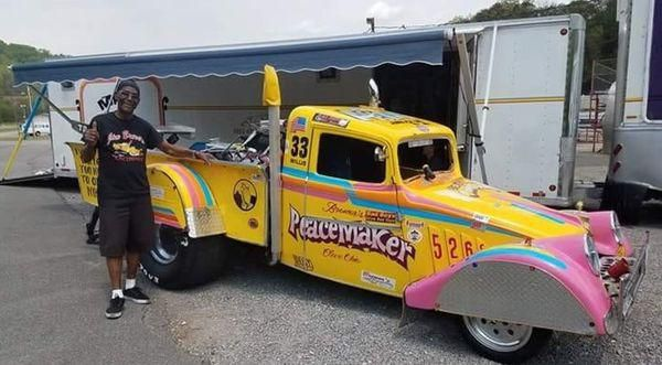 85-year old wheelstander ready to roll at Martin Dragway's Night of Thunder